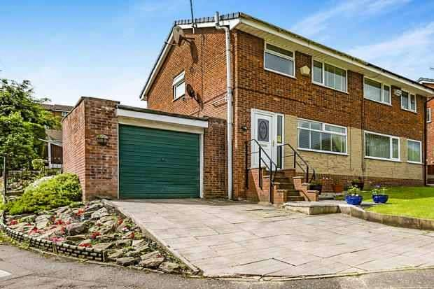 3 Bedrooms Semi Detached House for sale in Rosewood Avenue, Blackburn, Lancashire, BB1 9UB