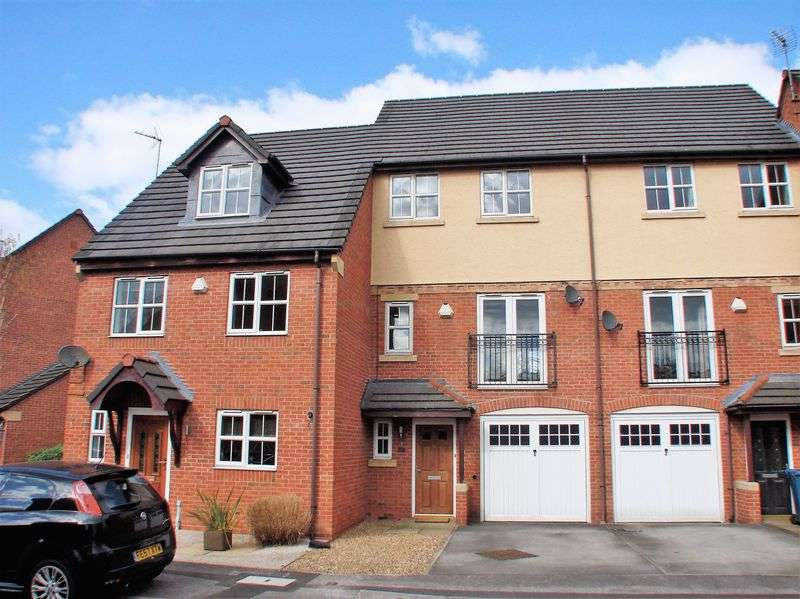3 Bedrooms Terraced House for sale in Hudson Way, Radcliffe-on-Trent