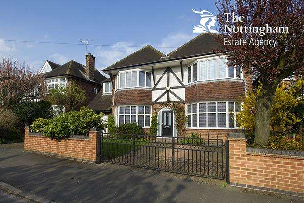 5 Bedrooms Detached House for sale in Parkside, Wollaton, Nottingham, NG8