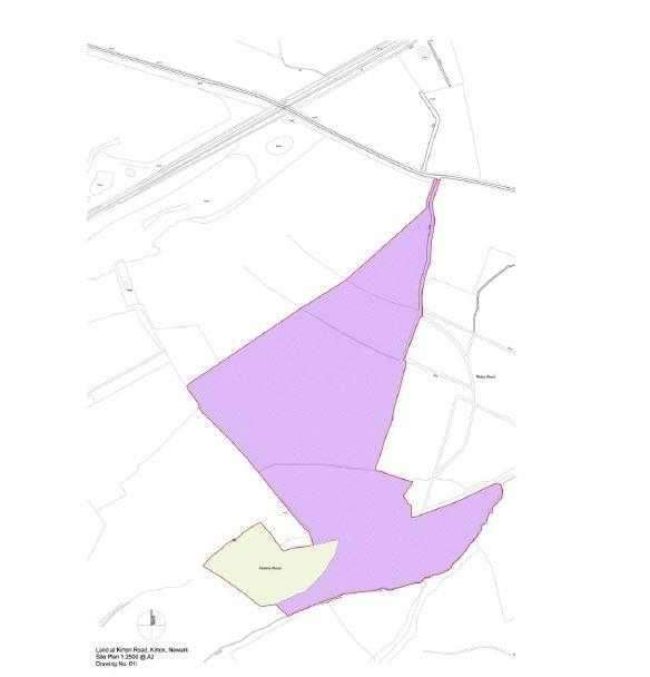 Land Commercial for sale in Land At Golden Hill, Egmanton Road, Kirton, Newark