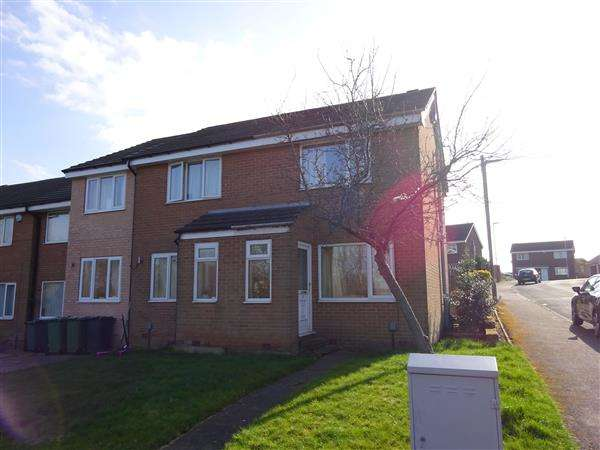 2 Bedrooms Semi Detached House for sale in Woodlands Close, Bradley, Huddersfield
