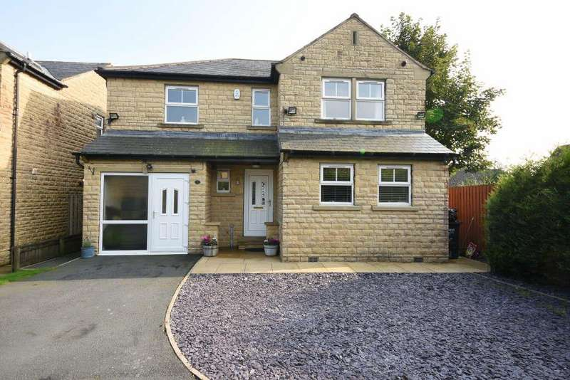4 Bedrooms Detached House for sale in Chapel Fold, Shelf, Halifax