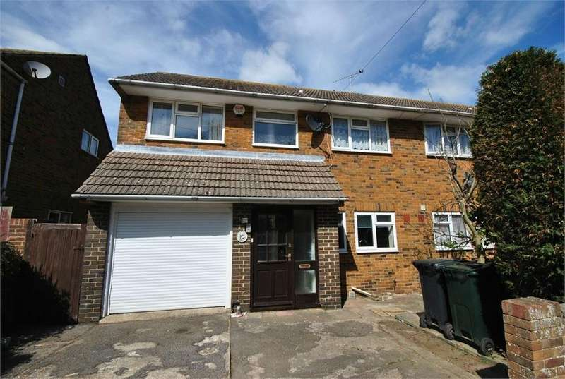 4 Bedrooms Semi Detached House for sale in Norfolk Close, BEXHILL-ON-SEA, East Sussex