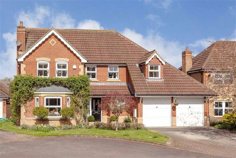 4 Bedrooms Detached House for sale in Birk Crag Court, Harrogate, North Yorkshire