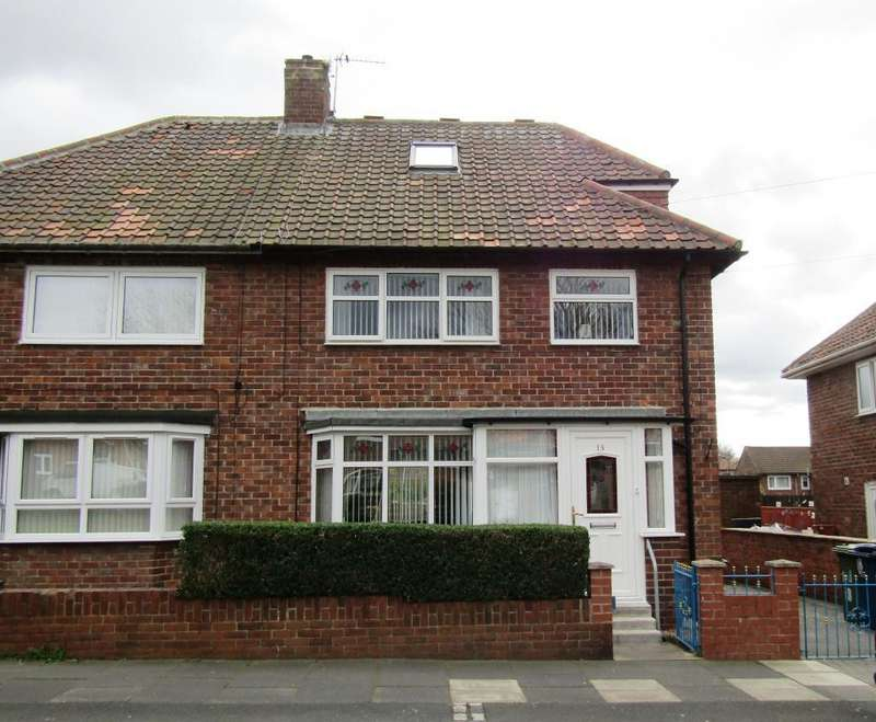 4 Bedrooms Semi Detached House for sale in Hamsterley Crescent, Wrekenton, Gateshead, Tyne Wear, NE9 7LB