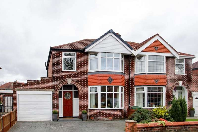 3 Bedrooms Semi Detached House for sale in Exeter Road, Davyhulme, Manchester, M41