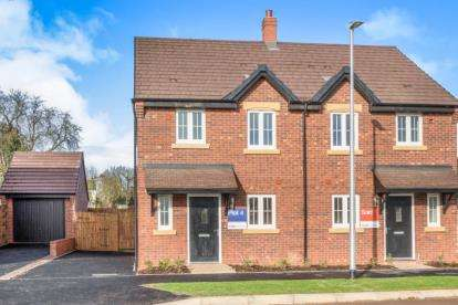 3 Bedrooms Semi Detached House for sale in Montague Court, Birmingham Road, Stratford-upon-Avon