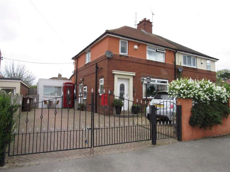 3 Bedrooms Semi Detached House for sale in Grove Crescent South, Boston Spa, Wetherby, LS23 6AY