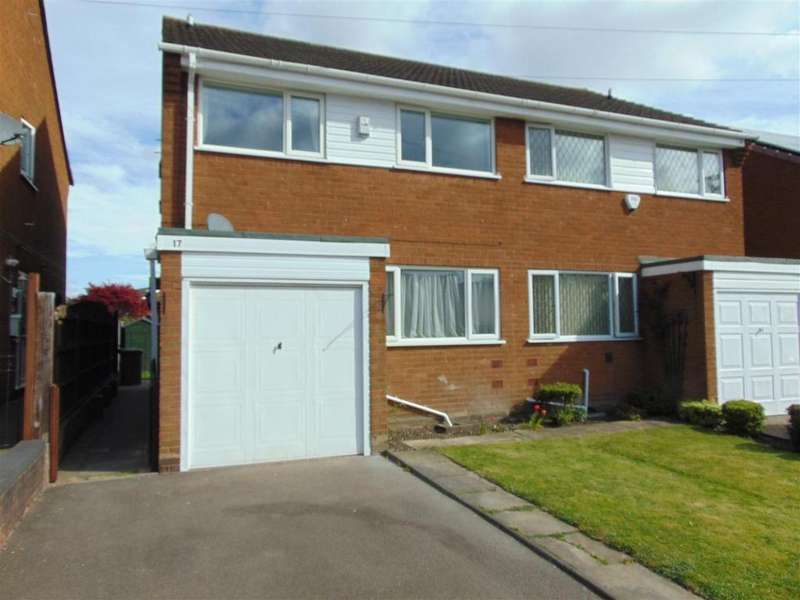 3 Bedrooms Semi Detached House for sale in School Street, Shelfield