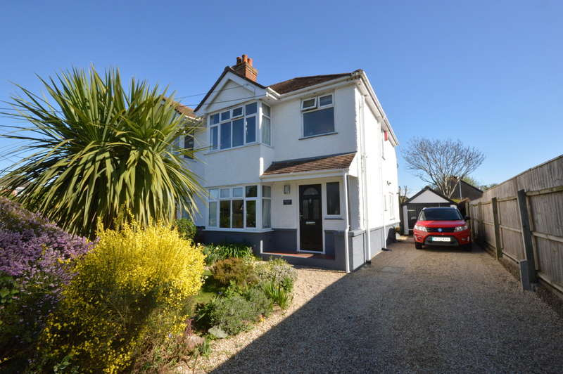 3 Bedrooms Semi Detached House for sale in Christchurch Road, New Milton