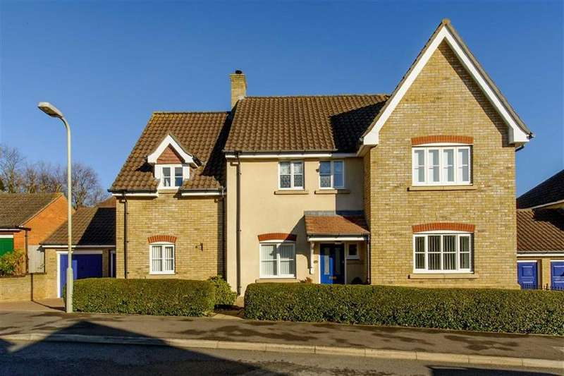 4 Bedrooms Detached House for sale in Freathy Lane, Ashford, Kent