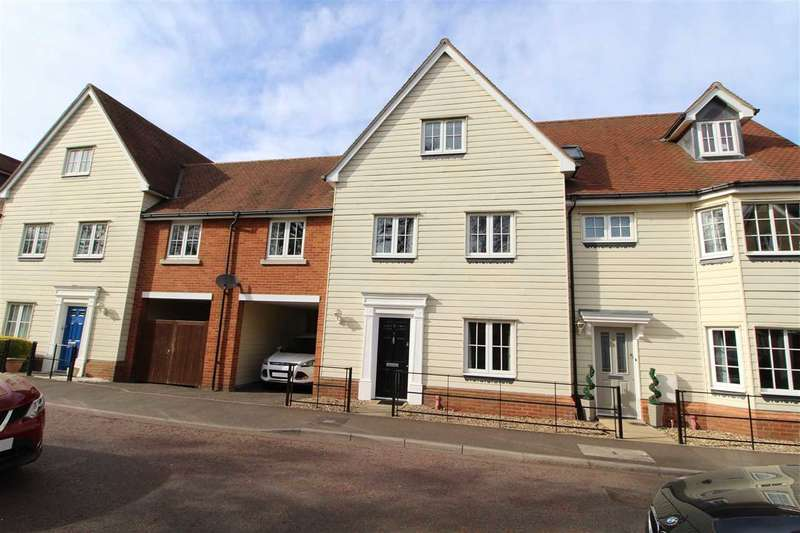 4 Bedrooms Town House for sale in Cambie Crescent, Mile End, Colchester