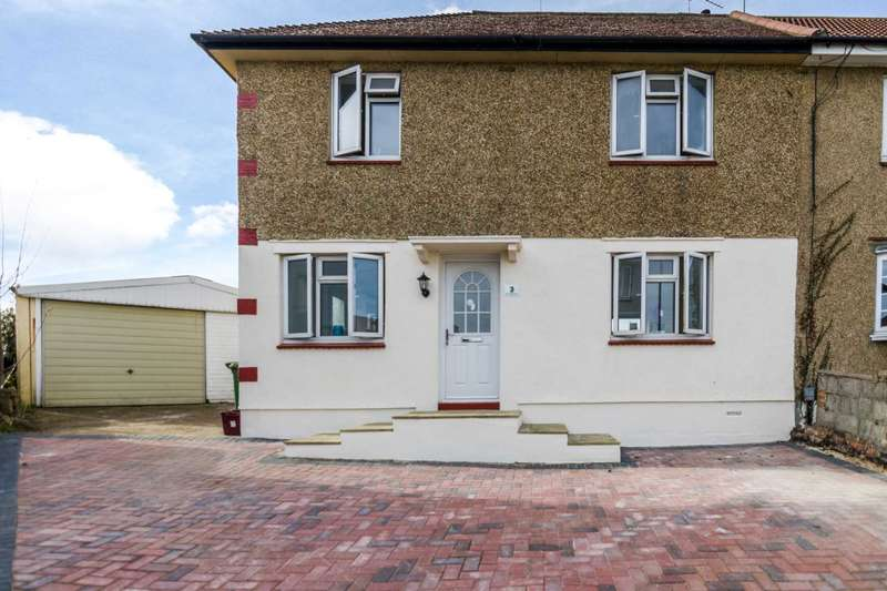 3 Bedrooms Detached House for sale in West Heath Close, Crayford, DA1 3PD