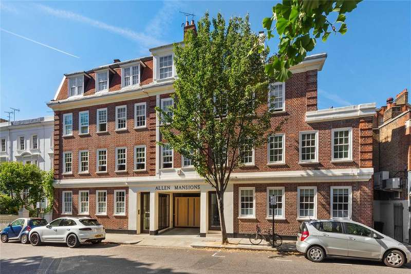 3 Bedrooms Flat for sale in Allen Mansions, Allen Street, Kensington, London