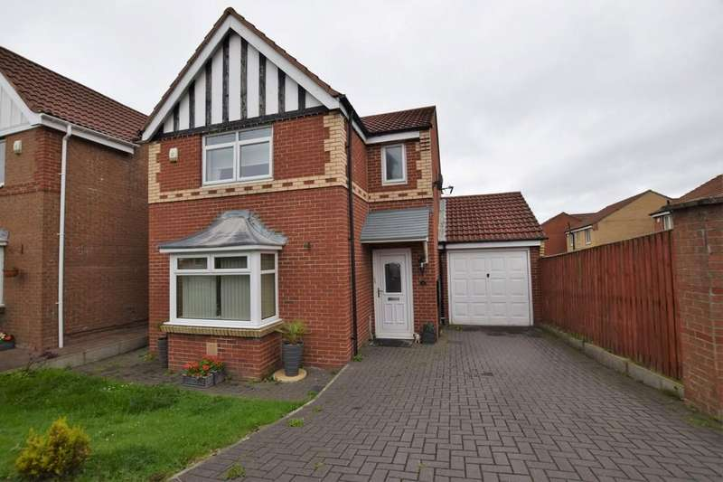 3 Bedrooms Detached House for sale in The Hawthorns, West Kyo, Stanley