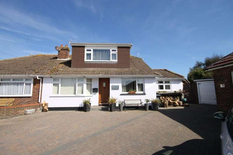 4 Bedrooms Semi Detached Bungalow for sale in Southview Close, Shoreham-by-Sea