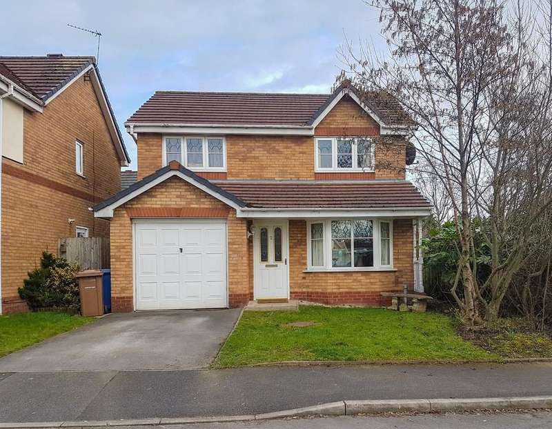 3 Bedrooms Detached House for sale in 2 Sandywarps, Irlam, Manchester