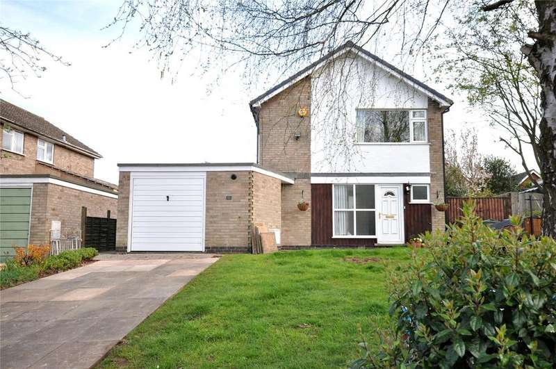 3 Bedrooms Detached House for sale in Hollytree Close, Hoton, Loughborough