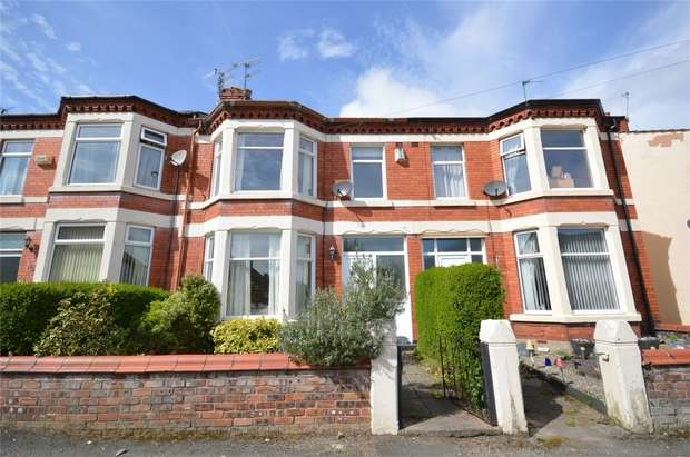 3 Bedrooms Terraced House for sale in Ashbrook Terrace, Bebington, Merseyside