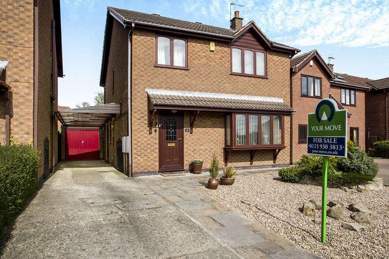 4 Bedrooms Detached House for sale in Crown Hill Way, Stanley Common, Ilkeston, DE7