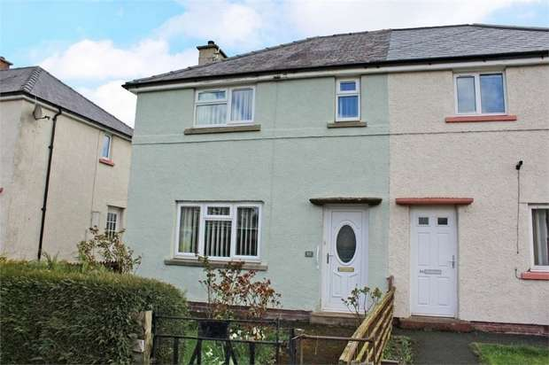 2 Bedrooms Semi Detached House for sale in Raiselands Croft, Penrith, Cumbria