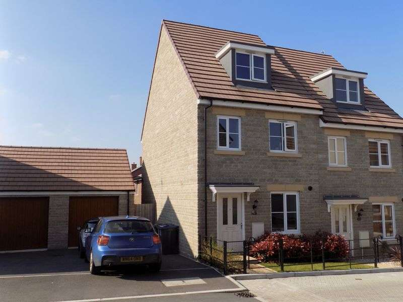 3 Bedrooms Semi Detached House for sale in Cob Hill, Ridgeway Farm