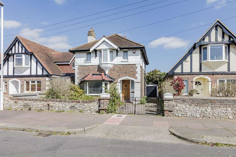 3 Bedrooms Detached House for sale in Haynes Road, Worthing, West Sussex, BN14