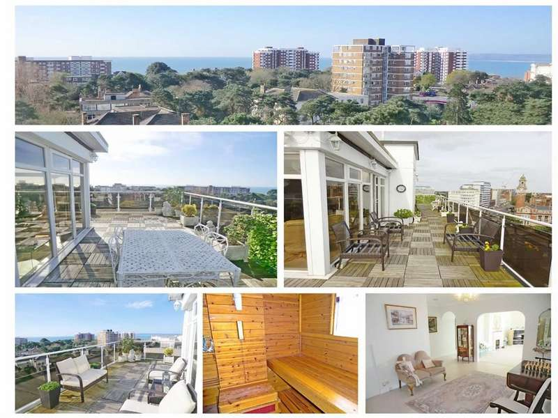 3 Bedrooms Flat for sale in Penthouse, Bournemouth, Dorset