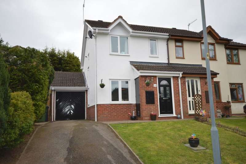 2 Bedrooms Semi Detached House for sale in Mulberry Tree Hill, Droitwich, WR9