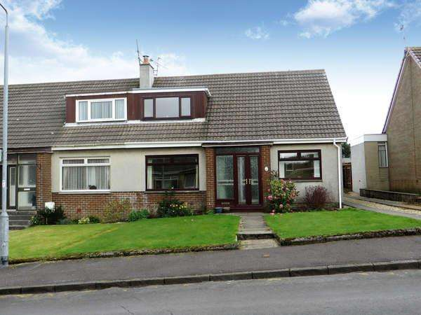 3 Bedrooms Semi Detached Bungalow for sale in 4 Netherlee Crescent, Dalry, KA24 5HA