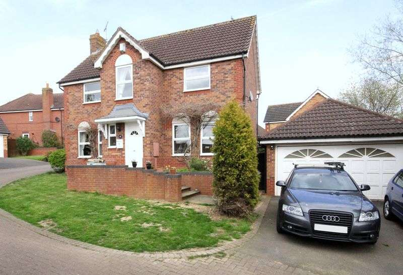 4 Bedrooms Detached House for sale in Merton Close, Brackley