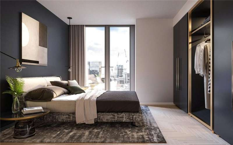 2 Bedrooms Apartment Flat for sale in One Crown Place, Hackney, EC2A