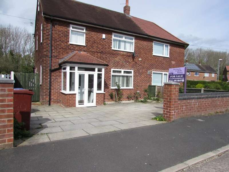 3 Bedrooms End Of Terrace House for sale in Lownorth Road, Woodhouse Park, Manchester