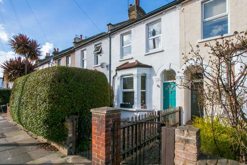 3 Bedrooms Terraced House for sale in Dryden Road, Wimbledon, London, SW19