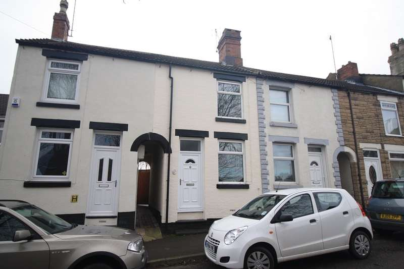 3 Bedrooms Terraced House for sale in Hastings Road, Swadlincote, Derbyshire, DE11