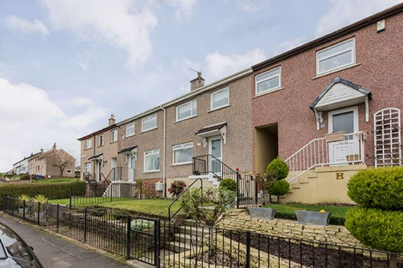 2 Bedrooms Terraced House for sale in Cardross Avenue, Port Glasgow, Renfrewshire, PA14 5SE