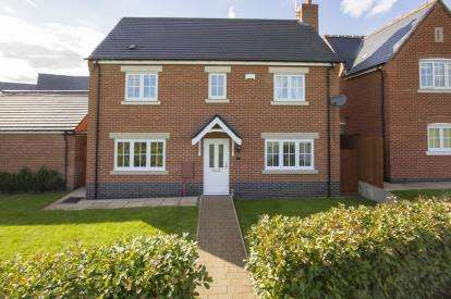 4 Bedrooms Detached House for sale in Palmer Square, Birstall, Leicester, Leicestershire