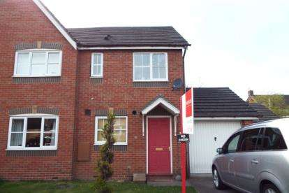 2 Bedrooms Semi Detached House for sale in James Atkinson Way, Crewe, Cheshire