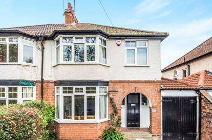 3 Bedrooms Semi Detached House for sale in Rugby Road, Leamington Spa, Warwickshire, England