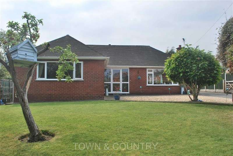 3 Bedrooms Detached Bungalow for sale in Mill Lane, Connah's Quay, Deeside, Flintshire