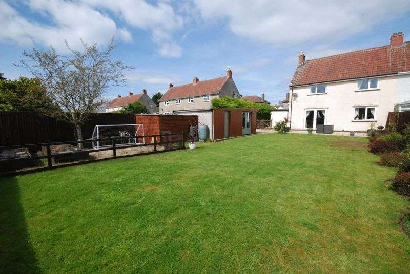 3 Bedrooms Semi Detached House for sale in Hill View, Farrington Gurney, Bristol