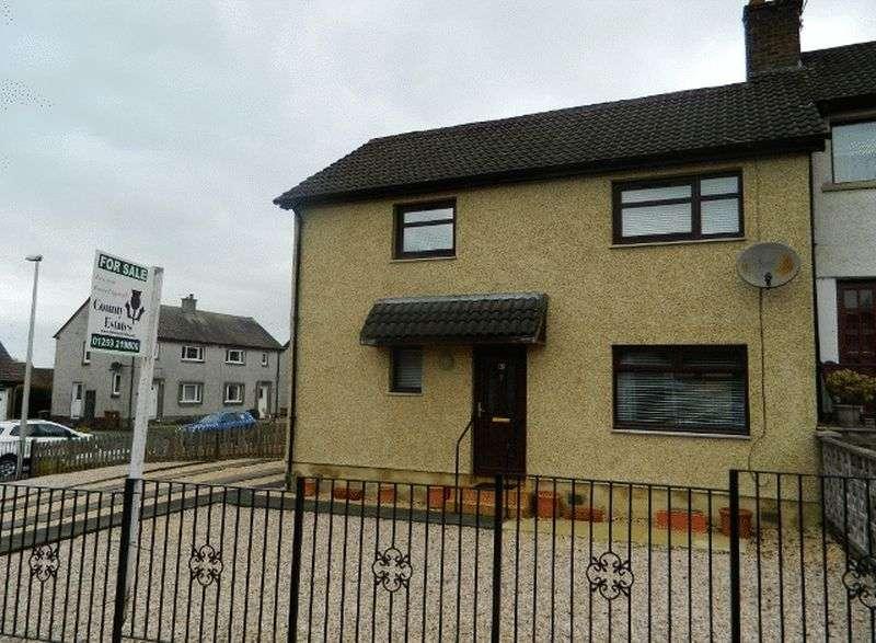3 Bedrooms Semi Detached House for sale in 5 BURNEE FISHCROSS, FK103JH