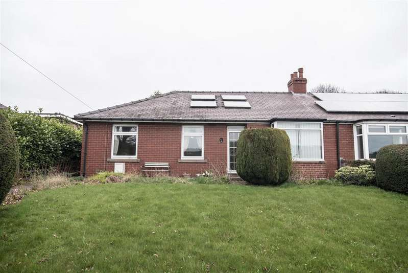 3 Bedrooms Semi Detached Bungalow for sale in Barnsley Road, Upper Cumberworth, Huddersfield, HD8 8NN