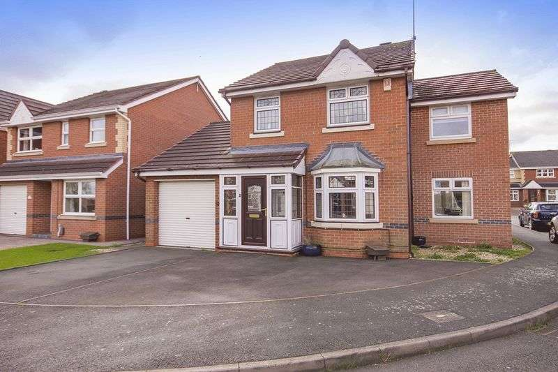 4 Bedrooms Detached House for sale in SLADE LANDS DRIVE, CHELLASTON