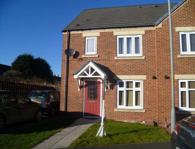 3 Bedrooms Semi Detached House for sale in Raines Court, Middlesbrough, TS4