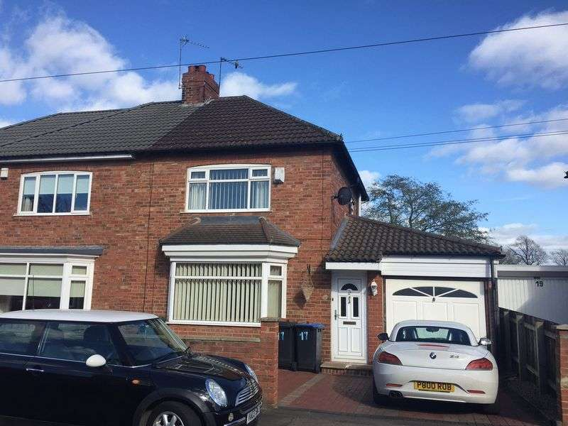 2 Bedrooms Semi Detached House for sale in Eastlea Avenue, Bishop Auckland
