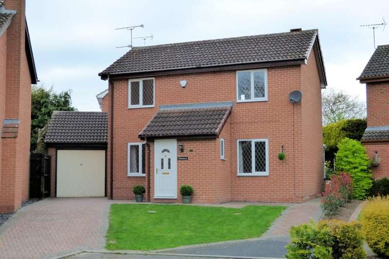 3 Bedrooms Detached House for sale in Ivy Grove, Burton-on-Trent