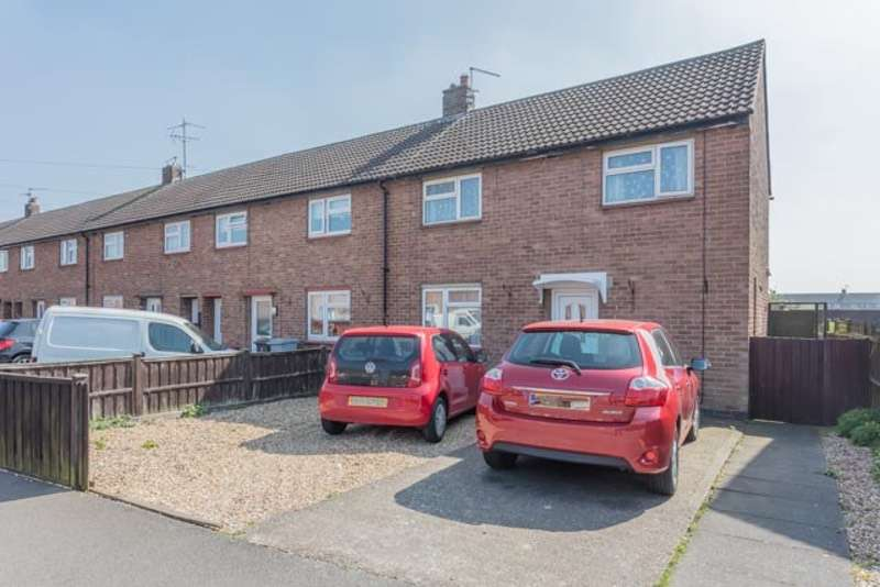 3 Bedrooms End Of Terrace House for sale in 19 Philip road, Newark, Nottinghamshire, NG24