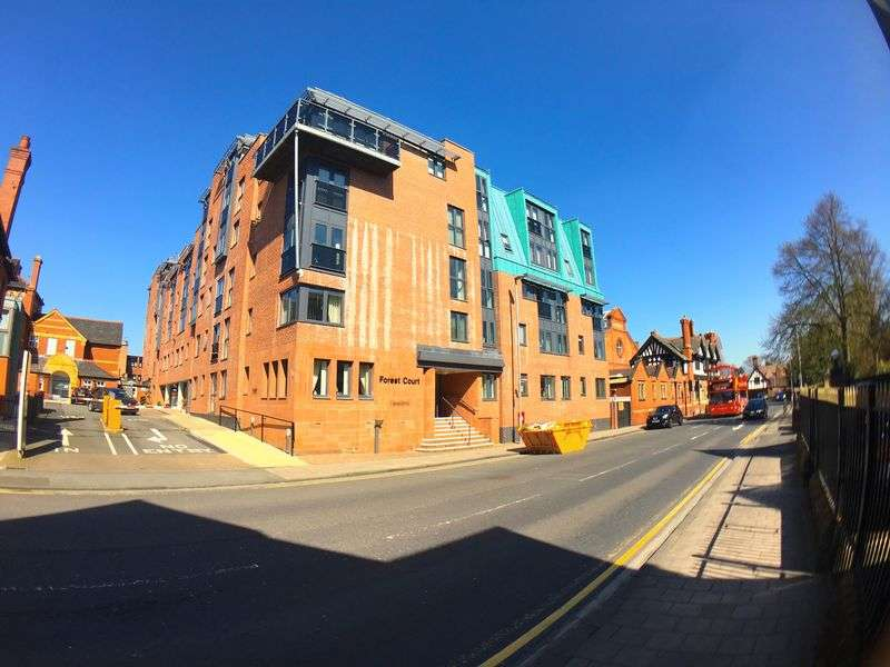 2 Bedrooms Flat for sale in Forest Court, Union Street, Chester. CH1 1AB