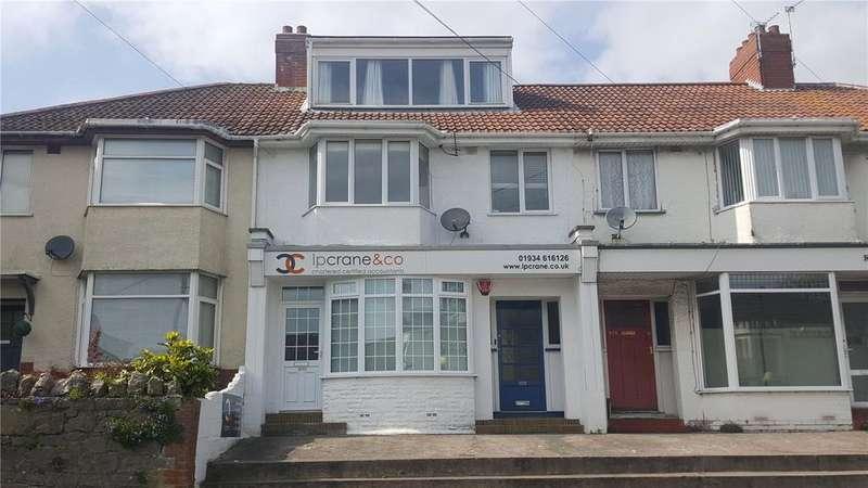 2 Bedrooms Maisonette Flat for sale in Upper Bristol Road, Milton, Weston-super-Mare, North Somerset, BS22